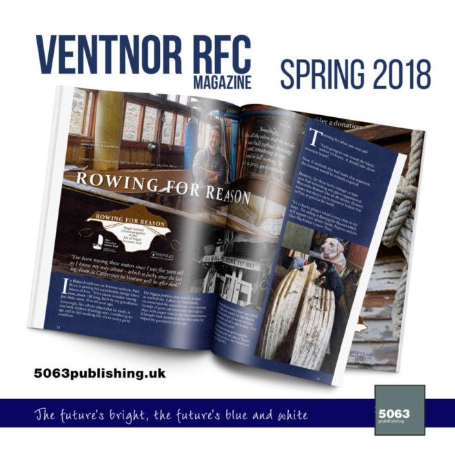 Ventnor RFC Magazine, Issue 3 Spring 2018
