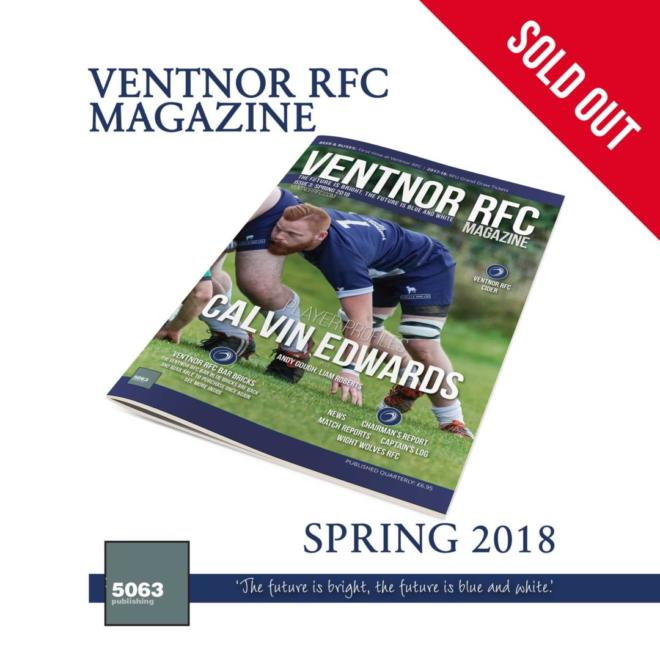 Ventnor RFC Magazine, Issue 3 Spring 2018