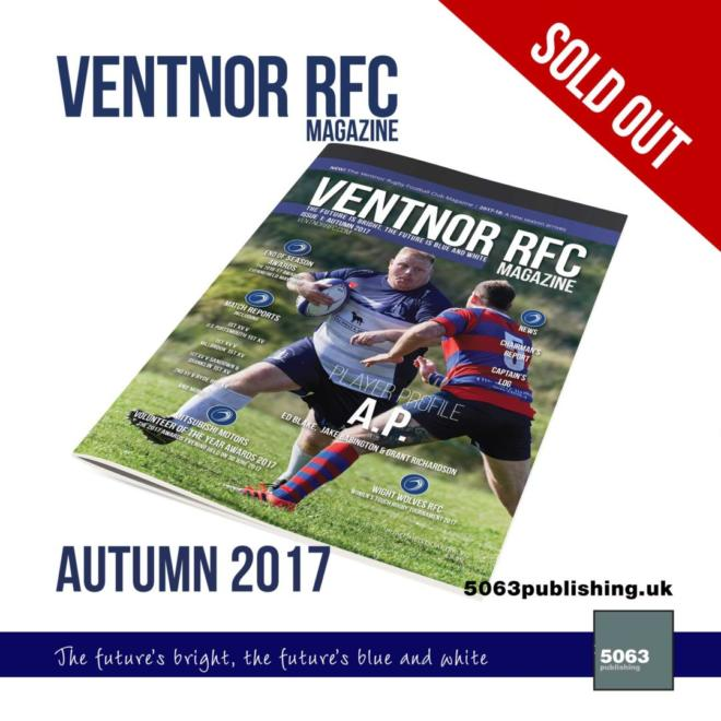 Ventnor RFC Magazine, Issue 1 Autumn 2017