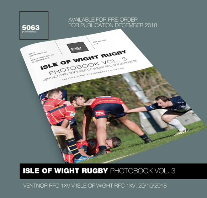 Isle of Wight Rugby Photobook Vol. 3: Ventnor RFC 1XV v Isle of Wight RFC 1XV, 20/10/2018