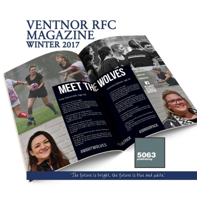 Ventnor RFC Magazine, Issue 2 Winter 2017