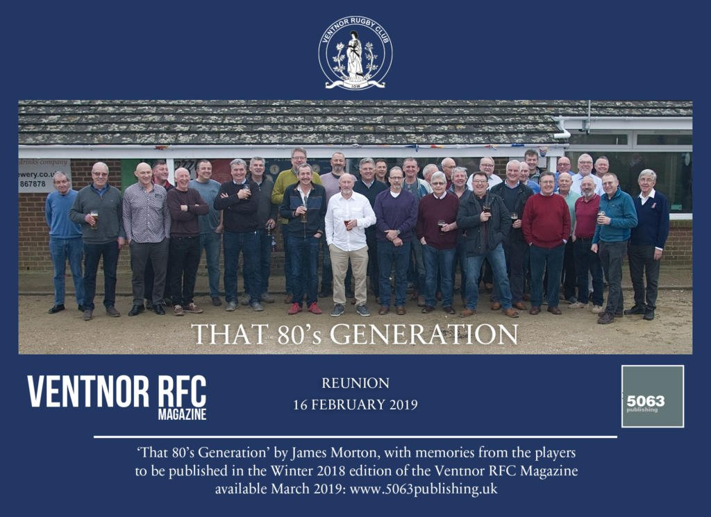 ventnor rfc 80s reunion 16 feb 2019