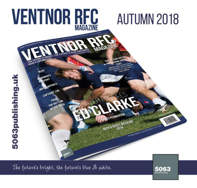 Ventnor RFC Magazine, Issue 5 Autumn 2018