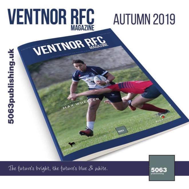 Ventnor RFC Magazine, Issue 9 Autumn 2019