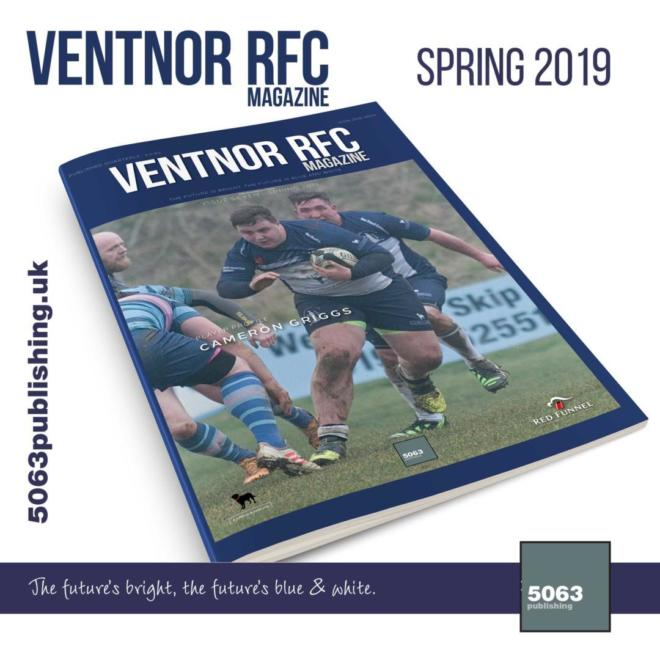 Ventnor RFC Magazine, Issue 7 Spring 2019