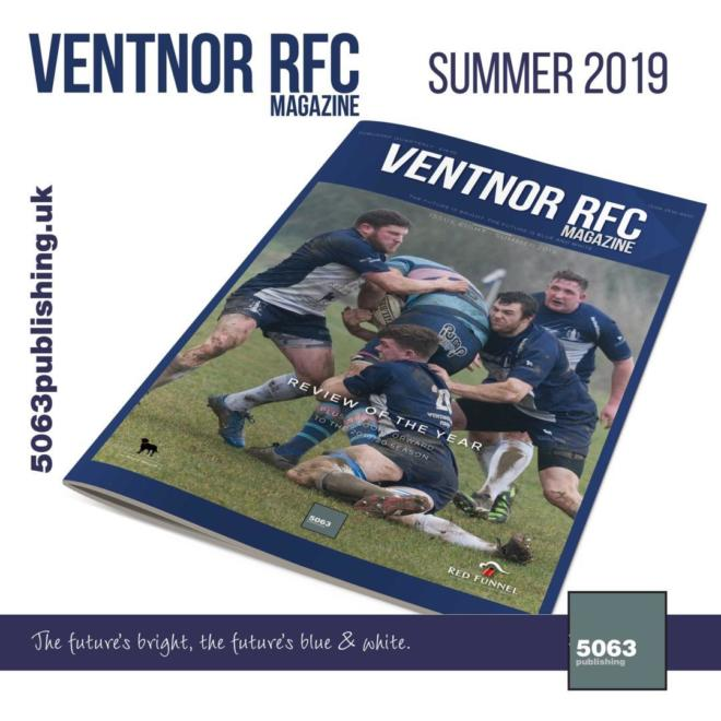 Ventnor RFC Magazine, Issue 8 Summer 2019
