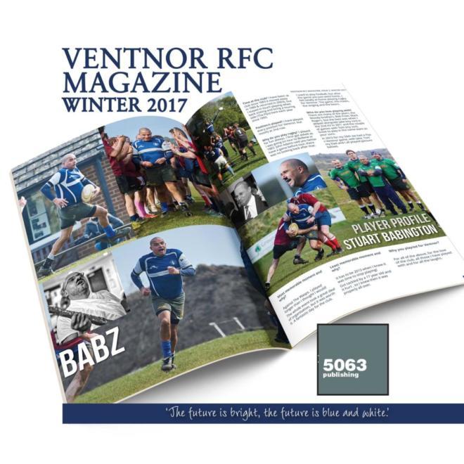 Ventnor RFC Magazine, Issue 2 Winter 2017